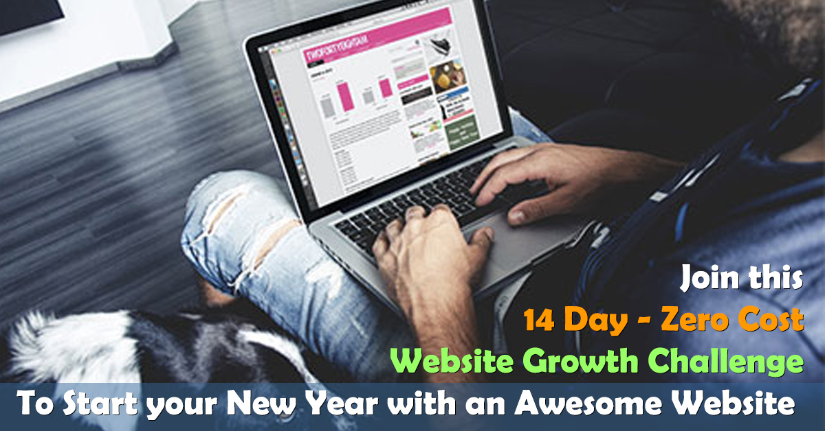 Website Growth Challenge – Zero to Success in 14 days